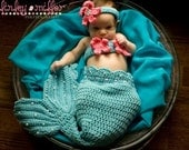 Crochet Pearls Mermaid Tail Prop Sets MADE TO ORDER
