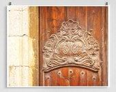 Spain photography - Old Spanish door - Barcelona,Spain photo,Art,Fine art photography,Spain home decor,8x10 wall art,Brown,Summer