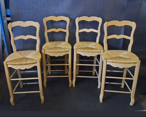 Reserved For Aj Set Of 4 French Country Bar Stools Custom