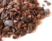 ROASTED CACAO NIBS, Organic - Chocolate, Cocoa - A Dark, Decadent, Delicious Treat
