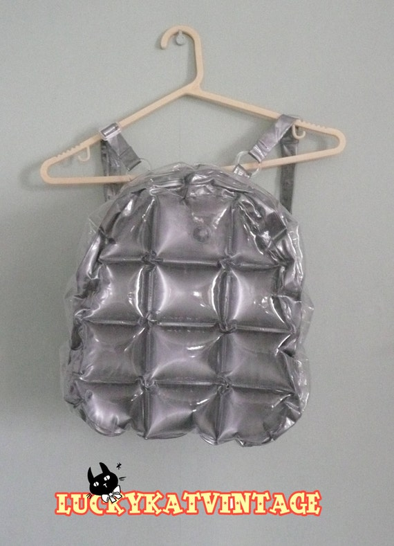 Blow Plastic Bubbles Blow up Bubble Backpack