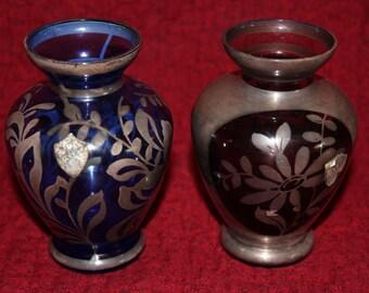 Vintage Argento Alfa Mini Bud Vases, Set of 2