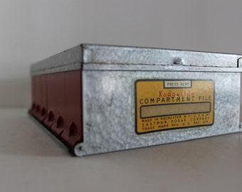 Vintage Kodak Kodaslide Compartment File