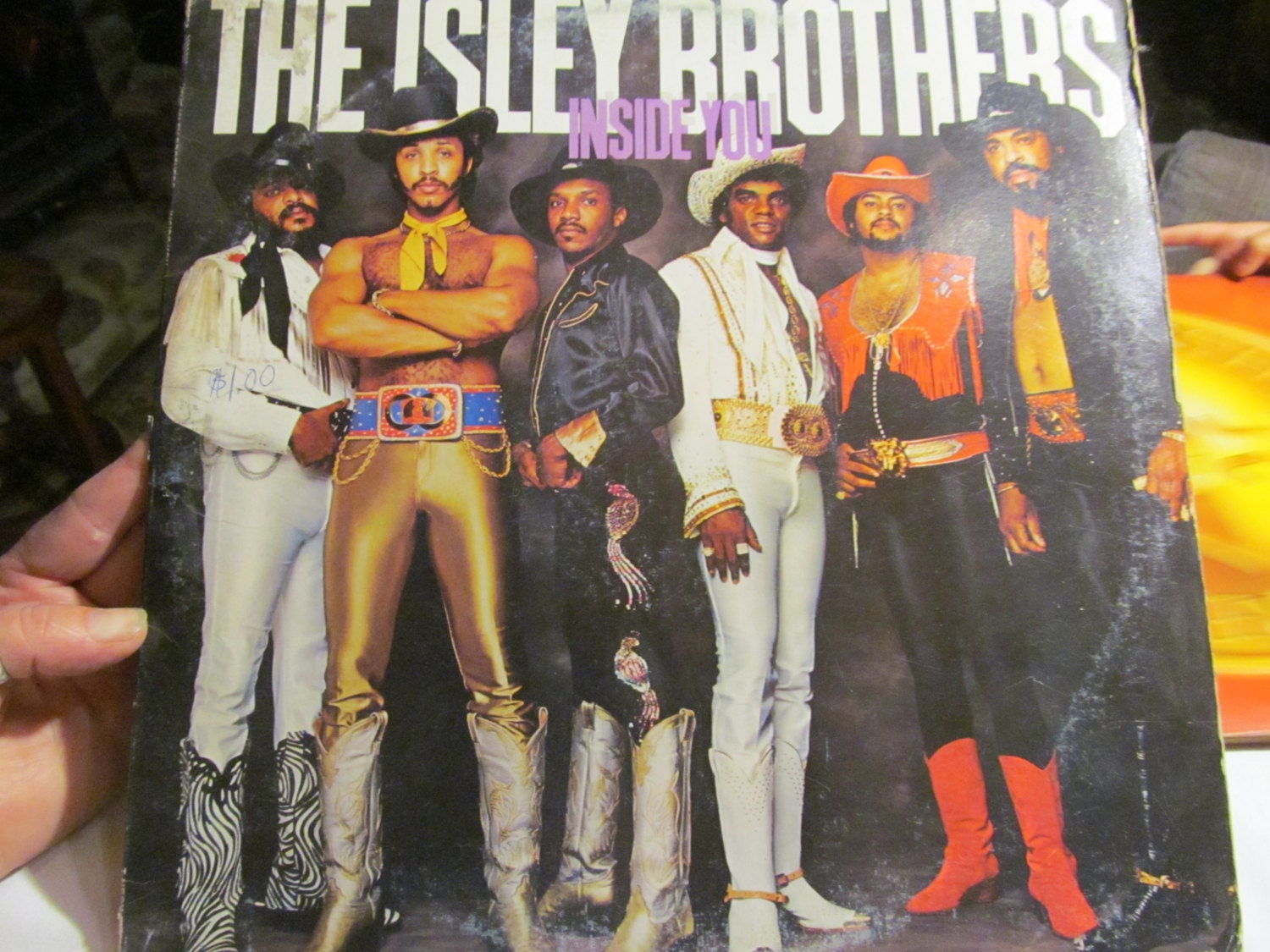 80s Disco Music The Isley Brothers Vinyl Record by ...