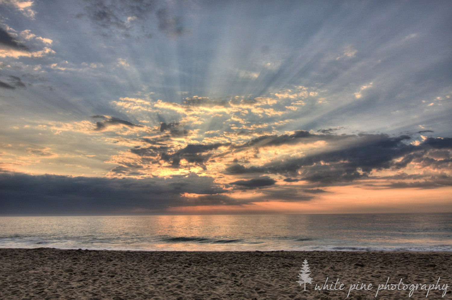 Bethany Beach Delaware Sunrise 8x10 Photograph