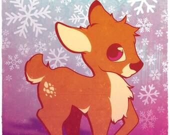 Cute Deer Print