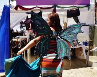 LAST ONE SALE - Leather Butterfly Wings