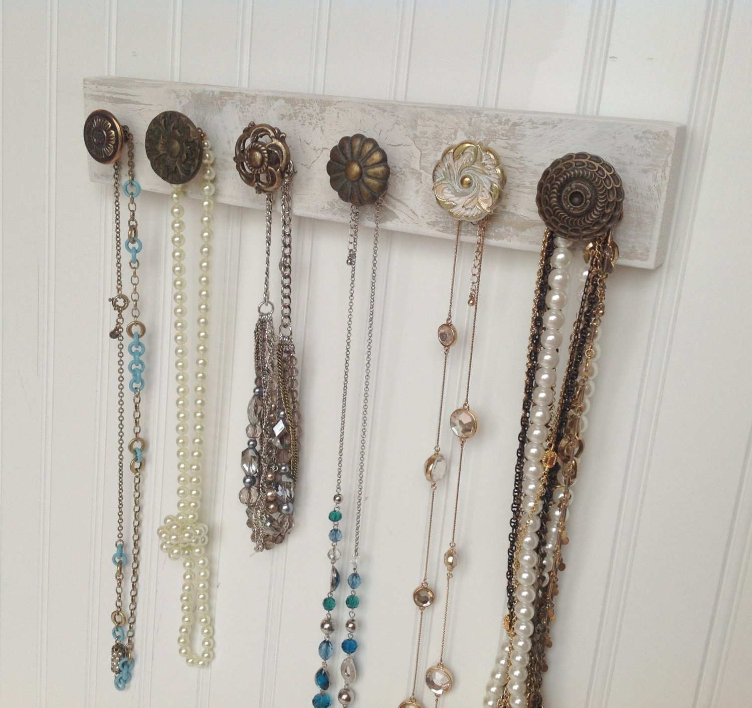 Wall Hanging Necklace Rack Jewelry Organizer Love By