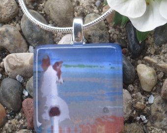Greyhound Necklace - Looking Out to Sea