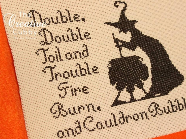 Halloween Witch Cross Stitch Pattern Pdf By Thecreativecubby