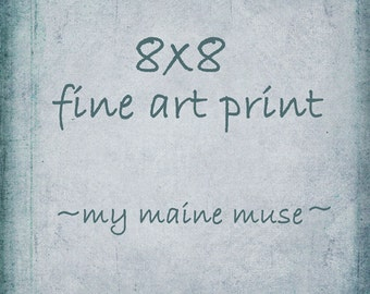 8x8 Fine Art Photography-Fine Art Print