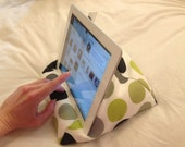 Custom Beanbag / Stand for iPads, Kindles, other tablets