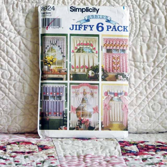 Home DECOR PATTERN 1994 SIMPLICITY 8924 Abbies By