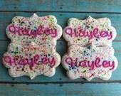 Splatter Art Cookies