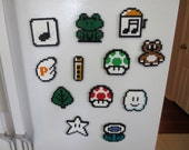 Magnet or ornament - Items from Super Mario Bros 3