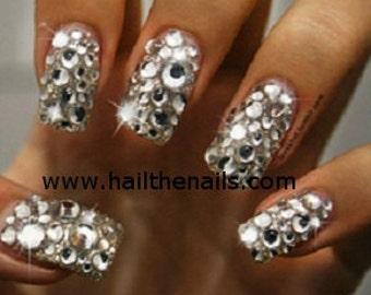 Crystal  Studs Nail Art - This seasons must have nails. 250 Rhinestones per pack YD929