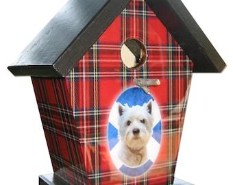 Scottish West Highland Terrier Birdhouse