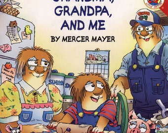 Little Critter Grandma, Grandpa, and Me Autographed - Free shipping