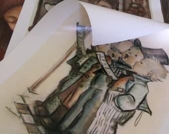 3 Goebel Collectors Club Hummel Prints