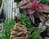 Bee skep for your whimsical miniature garden