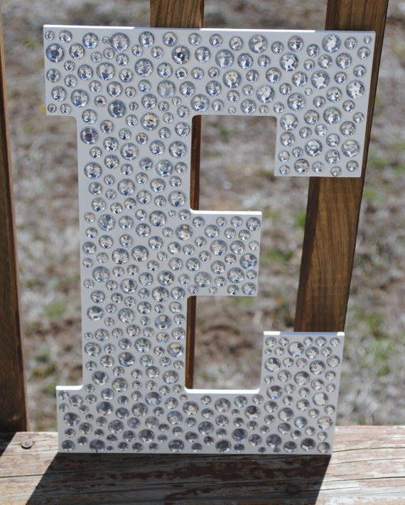 hanging wall letters items similar to sparkle white bling decorative wall 22079