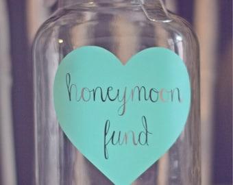 Honeymoon Fund Jar - WJ-1