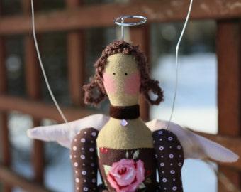 Tilda Angel Doll Princess Handmade Art Limited Edition