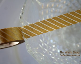 MT Gold Stripe Washi Tape