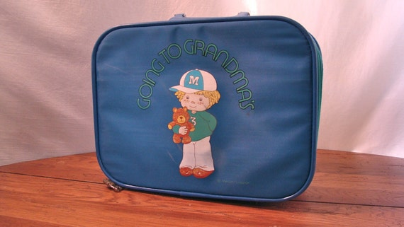 Kids Vintage Suitcase | Luggage And Suitcases