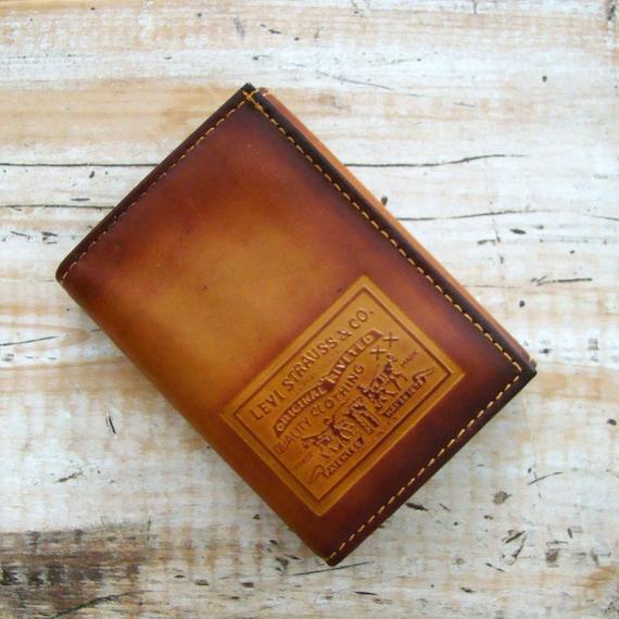 Vinyl Billfold Wallet Vintage