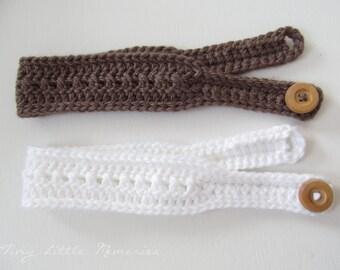 PICK 2:  Women's Headband, Crochet Headband - Color Choice, Crochet - Headband