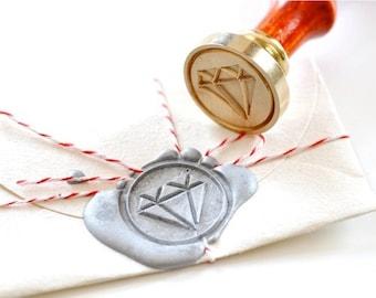 B20 Wax Seal Stamp Diamond
