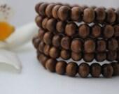 Mid-Tone Wood Bracelet