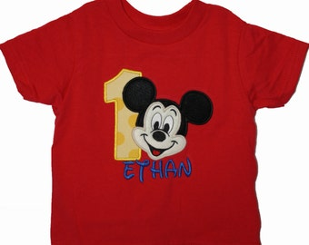 Boy's Mouse Birthday Shirt
