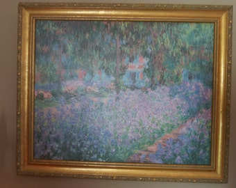 Monet: Artist's Garden in Giverny Painting