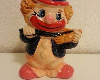 Little Clown Ceramic Coin Bank