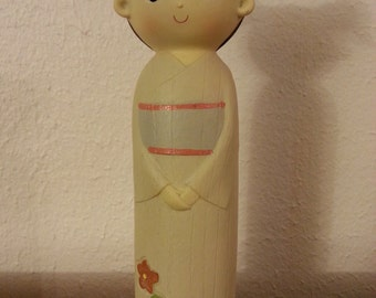 Wooden Asian Style Doll