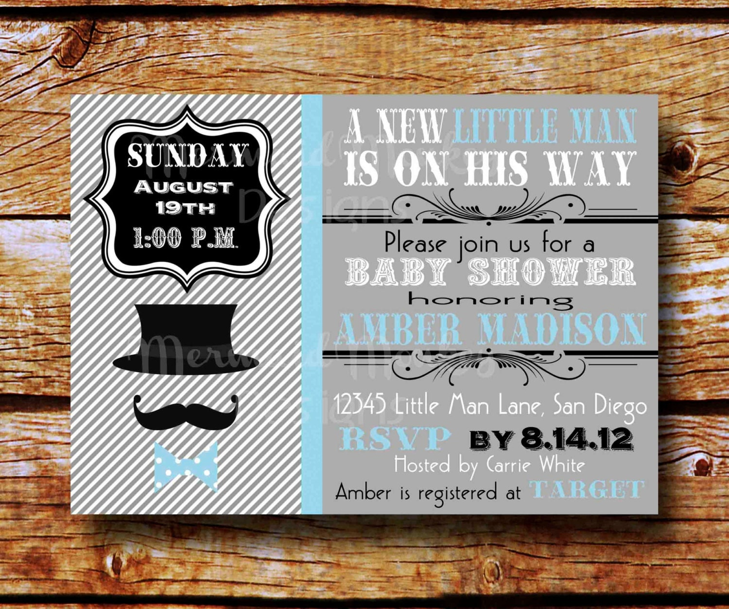 Bow Tie Invitations Baby Shower was good invitations design