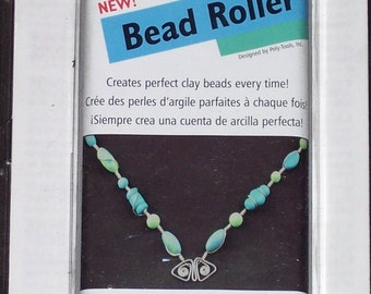 Bead roller, makes oval beads with polymer,air-dry,precious metal or any moist clay,Amaco