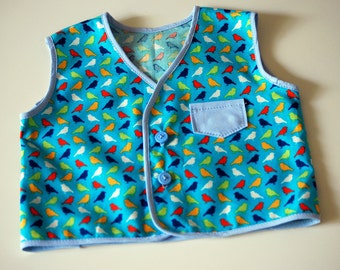 Baby's Bird Vest