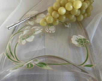 Repurposed Perrier Jouet Belle Epoque Champagne Bottle Cheese Tray