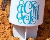 Monogram Beach Spike Beverage Holder