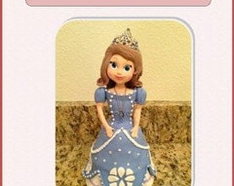 Sofia The First (Cake Topper) Step by Step tutorial