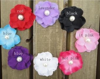 "Pack of 40 - Black 2"" Small Hydrangea Pearl Silk Flower Heads - Hydrangea Silk Flowers - Wholesale Silk Flowers - Detash Silk Flowers"