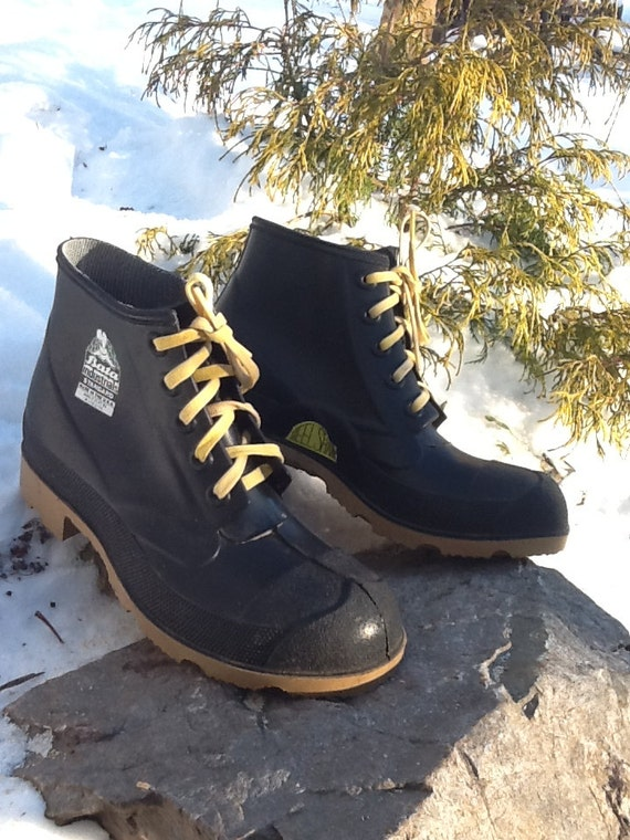 Vintage Steel Shank Steel Toe Bata Industrial Shoe Boot Puddle