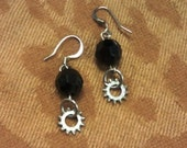 Kara Earrings with Aircraft Lock Washers