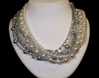 Brautschmuck perlenkette  Hochzeit Brautschmuck Perlenkette Braut Braut