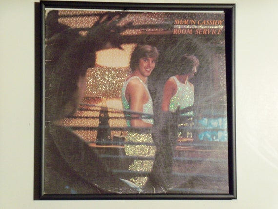 Glittered Record Album - Shaun Cassidy - Room Service