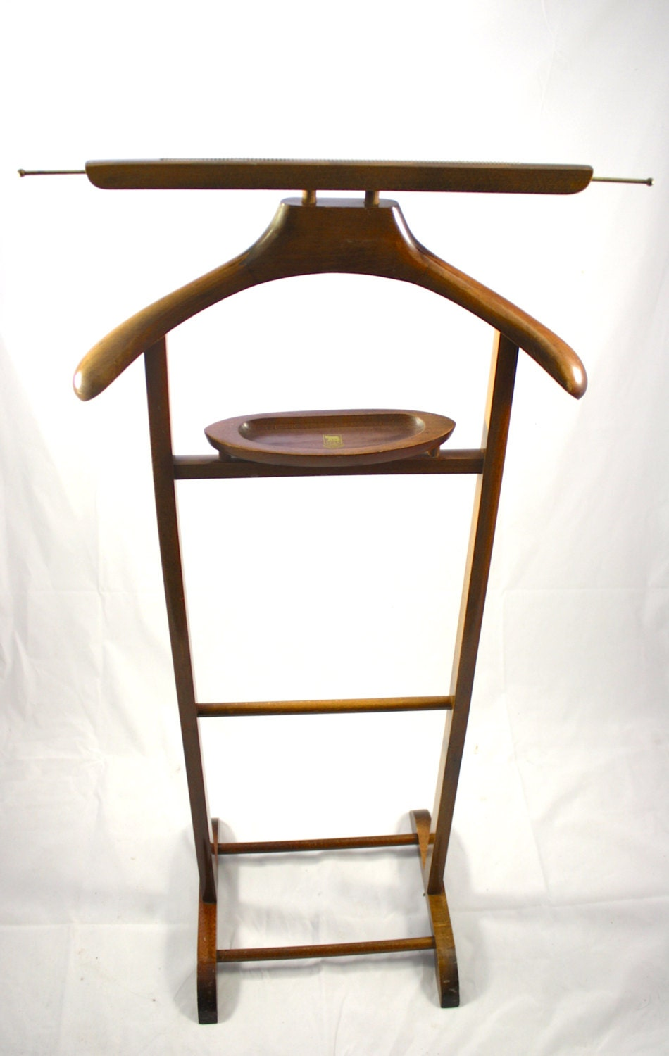 Vintage mens valet stand made in italy spqr