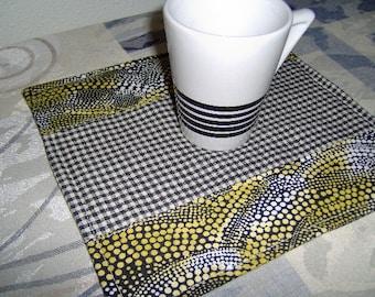 Mug Rugs Set of 2 Mini Placemats